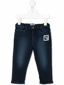 Emporio Armani Kids - Baby Boys Blue Soft Denim Jeans J605D9FZ695095586663