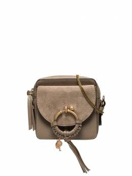 Chloé - grey Joan suede leather cross body bag SS995336955389330000