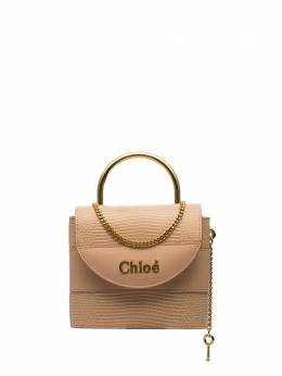 Chloé - delicate pink Abylock metal handle tote WS006B83955389550000