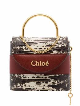 Chloé - Aby Lock lizard-effect tote WS006B85955390690000