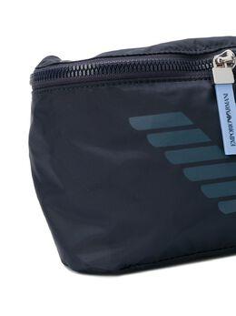Emporio Armani Kids - поясная сумка на молнии 5959A569T95699898000
