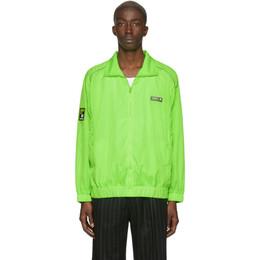 Misbhv Green Europa Track Jacket 192937M20200204GB