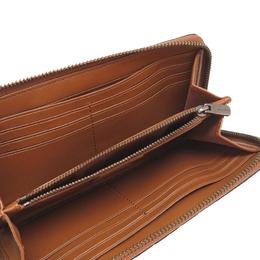 Coach Brown Leather Zip Around Wallet 238879