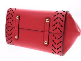 Salvatore Ferregamo Red Leather Sofia Top Handle Bag Salvatore Ferragamo 239054