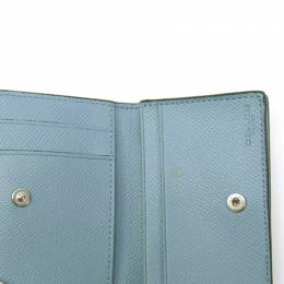Coach Light Blu Leather Card Case 238880