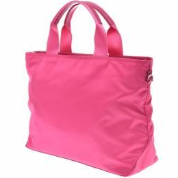 Prada Pink Nylon Tote Bag 238671