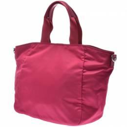 Prada Pink Nylon Tote Bag 238672