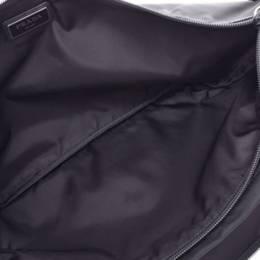 Prada Black Nylon Waist Pouch 238683