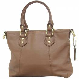Coach Brown Leather Ashley Tote 238832