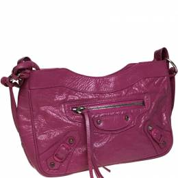 Balenciaga Pink Patent Leather Giant Shoulder Bag 238800