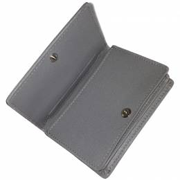 Balenciaga Gray Leather Card Case 238754