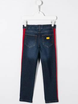 Dolce & Gabbana Kids - джинсы скинни с лампасами PR9G3TRZ953069500000