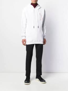 McQ Alexander McQueen - question mark print hoodie 590ROR63956063660000
