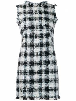 Alexander McQueen - твидовое платье мини 939QEAAR950983830000