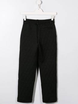 Fendi Kids - спортивные брюки с логотипом FF 093A3LN9596666800000