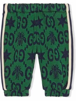 Gucci Kids - жаккардовые спортивные брюки 653XJA99950939900000