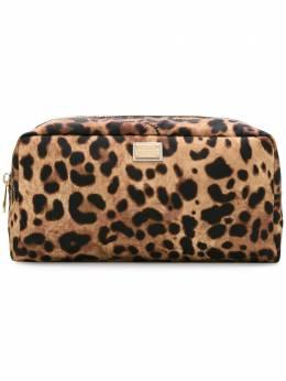 Dolce & Gabbana - leopard print make-up bag 930AG039906056850000