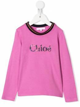 Chloé Kids - футболка с длинными рукавами A6659395699865000000