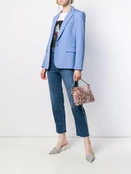 Jimmy Choo - сумка Callie с искусственным жемчугом LIE95558939000000000