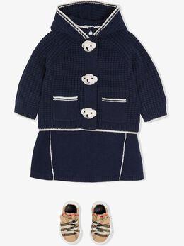 Burberry Kids - куртка Thomas Bear с капюшоном 39689558035900000000