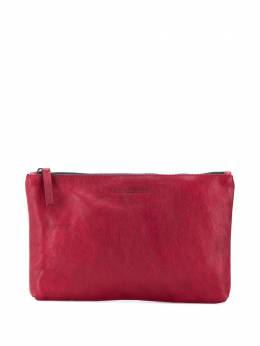 Ann Demeulemeester embossed zipped clutch 19028220W323