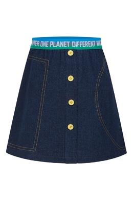 Джинсовая юбка #MumOfSix 2642161481