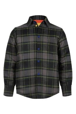 Клетчатая куртка с яркой подкладкой #MumOfSix 2642161479