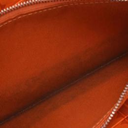 Hermes Rose Leather Zip Around Wallet 239108