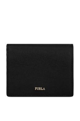 Черный кошелек из сафьяновой кожи Furla 1962161664