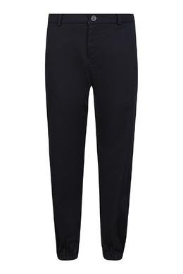 Синие брюки с логотипом на заднем кармане Gucci Kids 1256161902