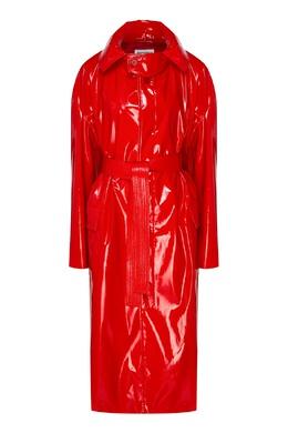 Красный плащ с поясом Balenciaga 397161350