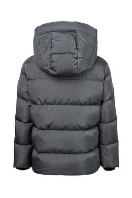 Серая куртка с черной отделкой Il Gufo 1205161889