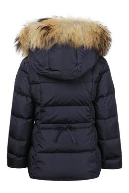 Синяя куртка с декоративной отделкой Il Gufo 1205161879
