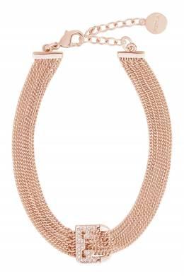 Массивный золотистый браслет F Shield Furla 1962161813