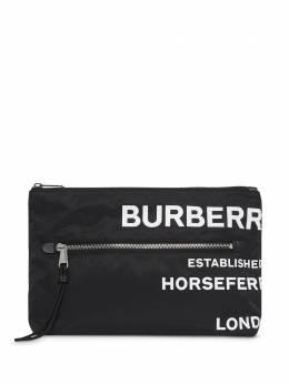 Burberry клатч с принтом Horseferry 8014756