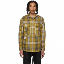 Fear Of God Yellow Flannel Plaid Shirt Jacket 6F19-6006HFL