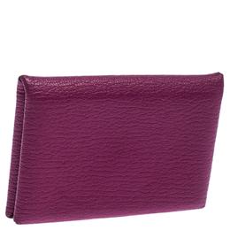 Hermes Magnolia Epsom Leather Calvi Cardholder 237460