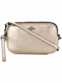 Coach сумка через плечо с металлическим отблеском 59952GMO3Z
