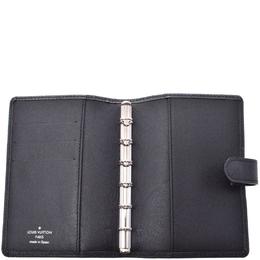 Louis Vuitton Ardoise Taiga Leather Agenda Planner Cover GM