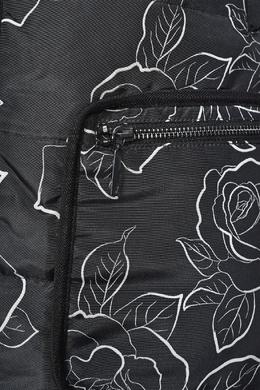 Черная куртка с узором Armani Jeans 1742162192