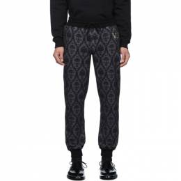 Undercover Black Valentino Edition Printed Lounge Pants 192414M19001905GB