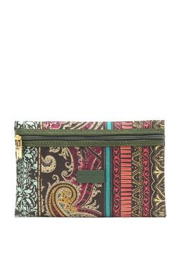 Плоская косметичка-клатч из текстиля Etro 907159062
