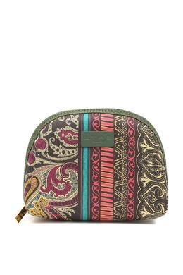 Крупная текстильная косметичка на молнии Etro 907159066