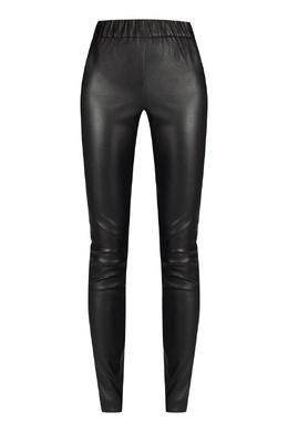 Черные кожаные леггинсы Max & Moi 2919162569