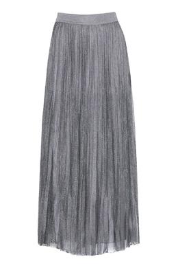 Серая плиссированная юбка Alberta Ferretti 1771163326