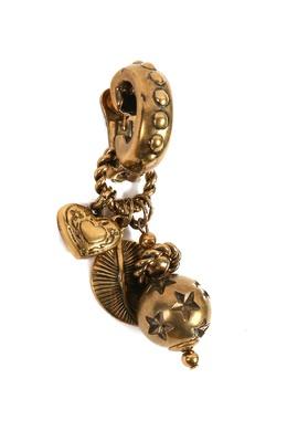 Клипсы цвета состаренного золота Etro 907159341