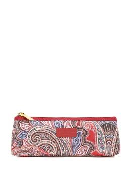 Красная текстильная косметичка на молнии Etro 907159051