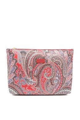 Красная косметичка из текстиля с узорами Etro 907163726