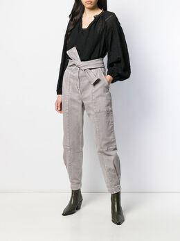 Ulla Johnson блузка с цветочной вышивкой HO190210