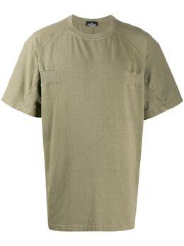 Stone Island Shadow Project футболка со вставками MO711920511